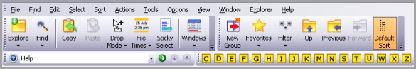 The FileBoss Driver shown in place