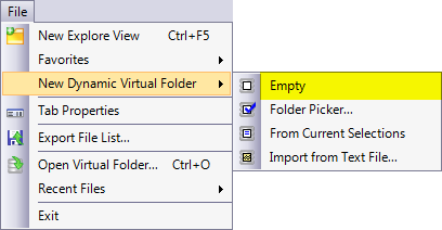 New Dynamic Folder From Text File